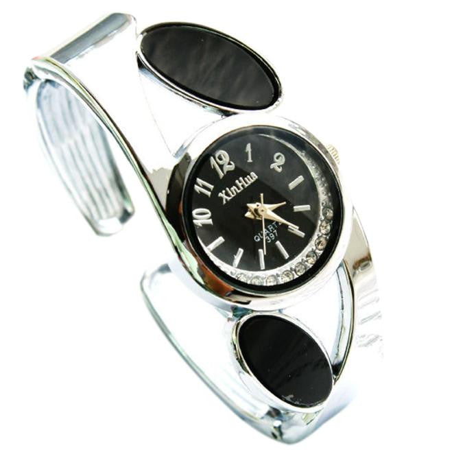 Fashion Women's Bangle Bracelet Analog Wrist Watch
