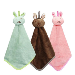 Kitchen Cartoon Animal Hanging Hand Towel