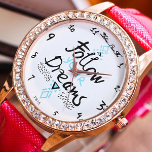 Watch Candy Color Male And Female Strap