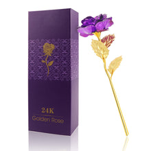 24K Gold Plated Rose Artificial Flowers