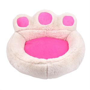 Bear's Paw/Dog or Cat Bed/Soft Warm Kennel - Size M 22 x 22.4 x 5.1 inch (LxWxH)