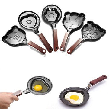 Kitchen Tools & Gadgets - Mini Stick Cartoon Omelette Fry Pan Egg Frying Pan