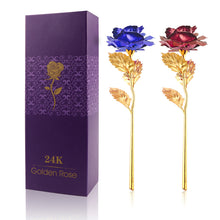 24K Gold Plated Rose Flower Decoration/Artificial Flower