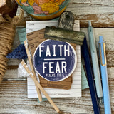 faith over fear navy (Psalms 118:6) #TheAdoptShoppecard