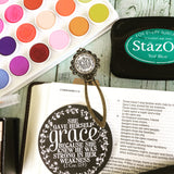 she gave herself grace (2 Corinthians 12:9) bookmark