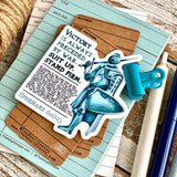armor of God (Ephesians 6:10-13) vinyl sticker