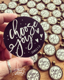 choose joy #TheAdoptShoppecard