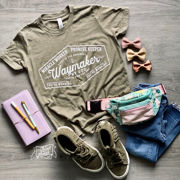 PRESALE waymaker youth triblend t-shirt