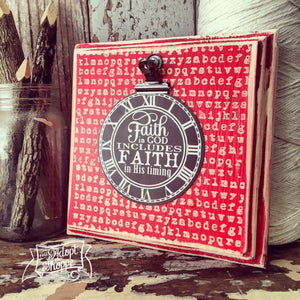 faith in God's timing clock #TheAdoptShoppecard
