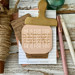 He is for you - the blessing (Numbers 6:24-26) #TheAdoptShoppecard