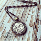 you are the mother your children need necklace