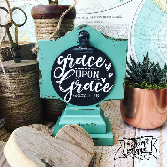 grace upon grace #TheAdoptShoppecard
