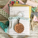 grace upon grace leather charm tag