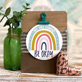 we are gonna be okay RAINBOW (Romans 8:28) #TheAdoptShoppecard