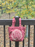 oh give thanks autumn fair trade tote bag