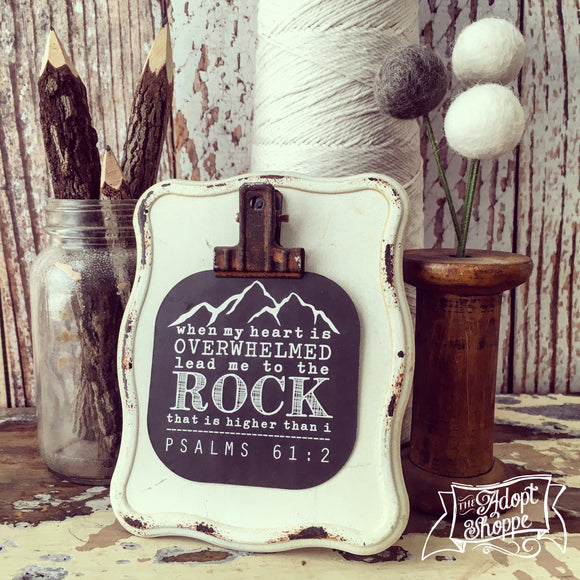 lead me to the ROCK #TheAdoptShoppecard