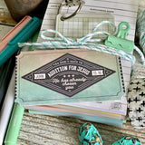vintage retro ticket #TheAdoptShoppecard pack