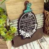 mother love she holds in her heart #TheAdoptShoppecard
