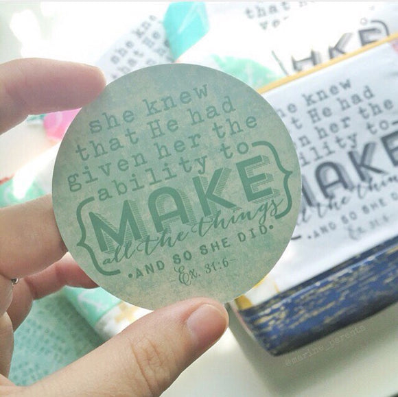 make all the things #TheAdoptShoppecard