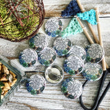 seeds she planted succulent flair button pin / magnet / flat back