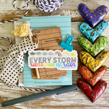 every storm runs out of rain (Psalms 107:29-31) sticker