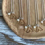 adoption triad birthmother adoptive mom child necklace