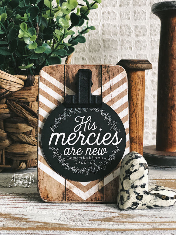 His mercies are new (Lamentations 3:22-23) #TheAdoptShoppecard