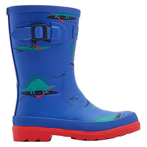 Joules Boys Blue Dino Paddle - TheShoeZoo