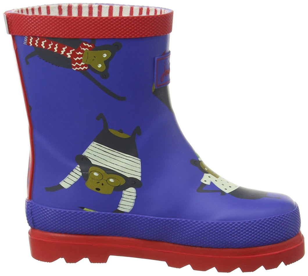 Joules Boys Blue Monkey - TheShoeZoo