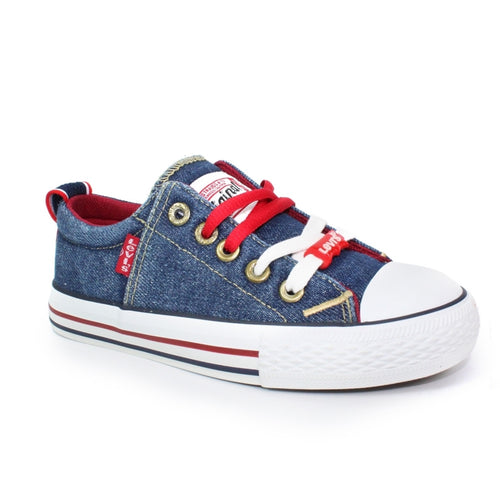 Levi's Blue Denim Original Low Trainer