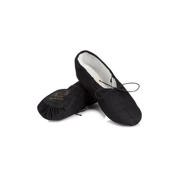 Freed Men's Top Spin Black Ballet Shoe - TheShoeZoo