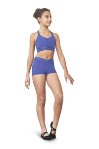 Bloch Aiva Mesh Hem Crop Top