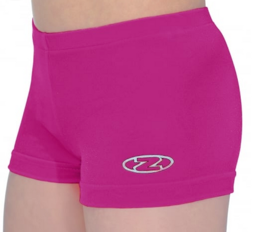 The Zone Cerise Gymnastics Shorts