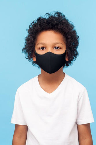 Bloch Child's Black Face Mask With Lanyard