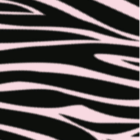 Bloch Pink & Black Zebra Print Adult Face Mask