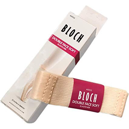Bloch Double Face Soft Ribbon