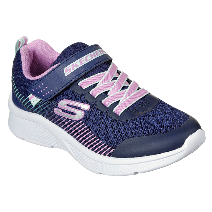 Skechers Girls Microspec Trainers
