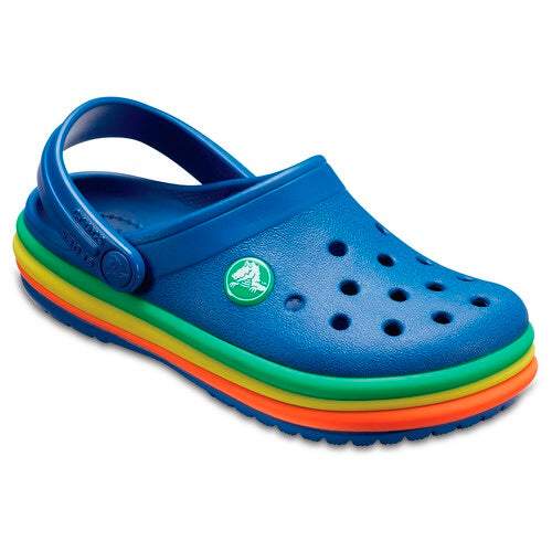 Crocs Rainbow Band Clog - TheShoeZoo