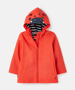 Joules Red Ladybird Coat