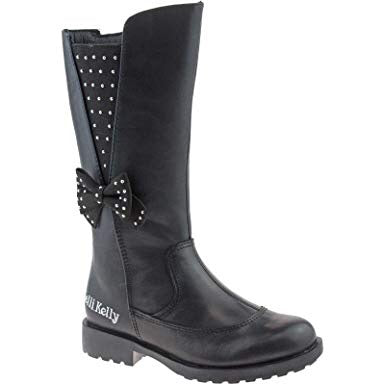 Lelli Kelly Portia Black Leather Boot