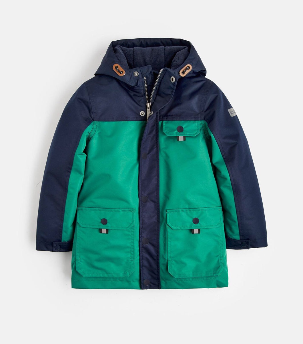 Joules Playground Waterproof Coat