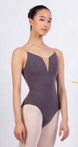 Grishko Medium Taupe Leotard With Straps
