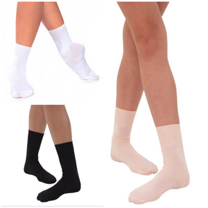 Roch Valley White Ballet Socks