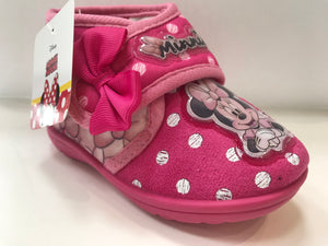 Pink Minnie Mouse Slippers