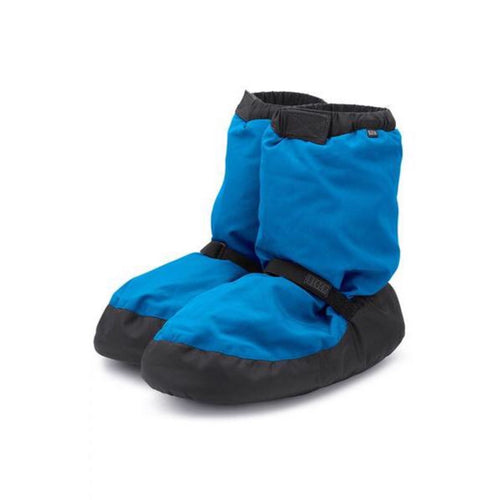 Bloch Fluorescent Blue Warm Up Boot Kids