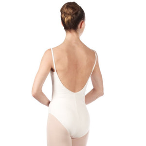 Bloch White Cami Leotard