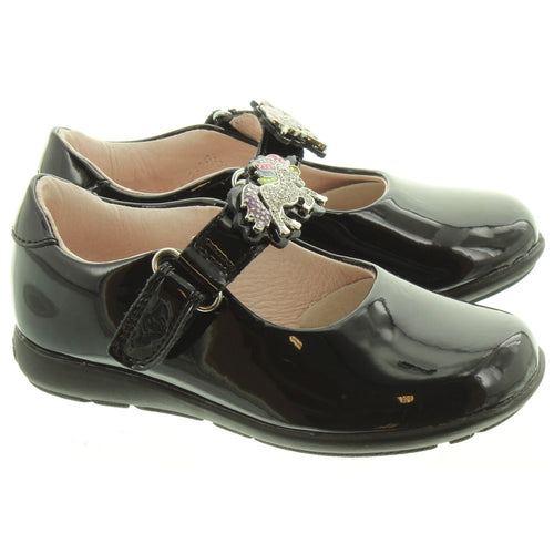 Lelli Kelly Blossom Unicorn School Shoe