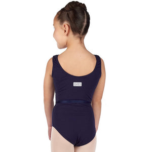 Freed of London Aimee Navy Blue Leotard - TheShoeZoo
