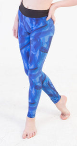 Kaia by Bloch Printed Leggings