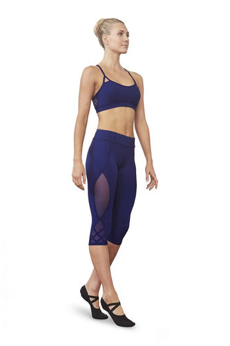 Bloch Mesh Capri Leggings